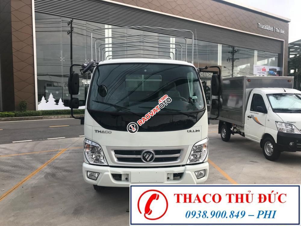 Thaco Ollin360 2.2 tấn, tải trọng lớn cùng với thùng dài, động cơ công nghệ Isuzu-1