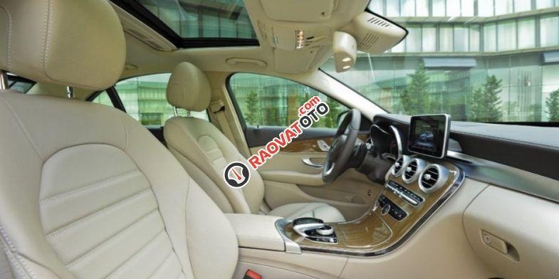 Bán xe Mercedes benz C250 2016, màu trắng, nội thất kem. Chỉ với 360 triệu rinh xe về ngay-4