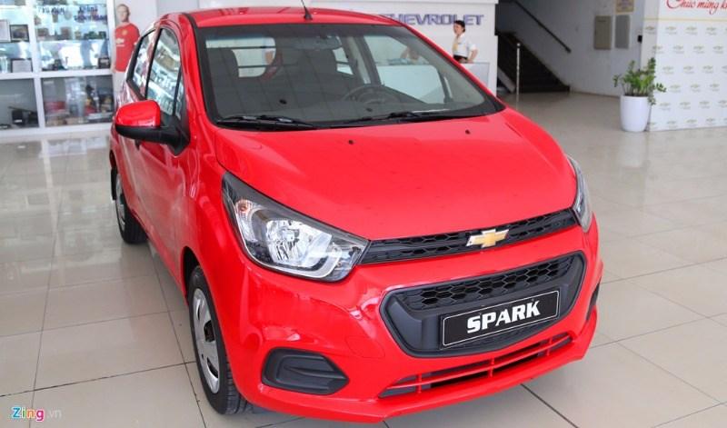 Bán xe Chevrolet Spark đời 2017, màu đỏ, nhập khẩu nguyên chiếc-12