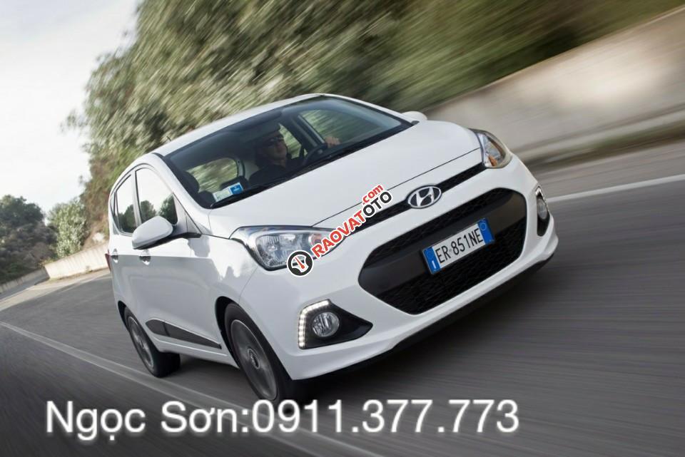 Cần bán xe Hyundai Grand i10 mới, màu trắng, liên hệ Ngọc Sơn: 0911.377.773-1