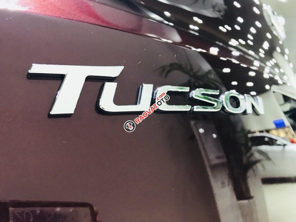 Hyundai Tucson 1.6AT Turbo đỏ giao ngay chỉ có tại Hyundai Kinh Dương Vương lại còn tặng thêm BHVC 1 năm-2