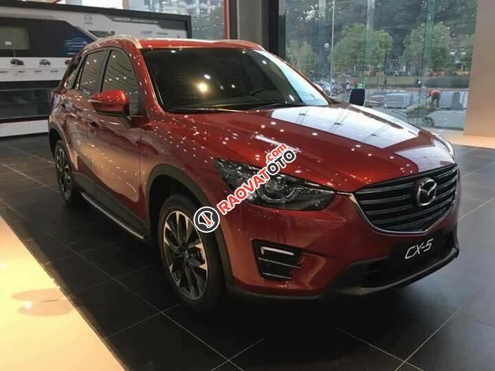 Bán xe Mazda CX 5 AT 2.5L 2WD sản xuất 2017, màu đỏ - LH 0965500741 để biết thêm chi tiết-1