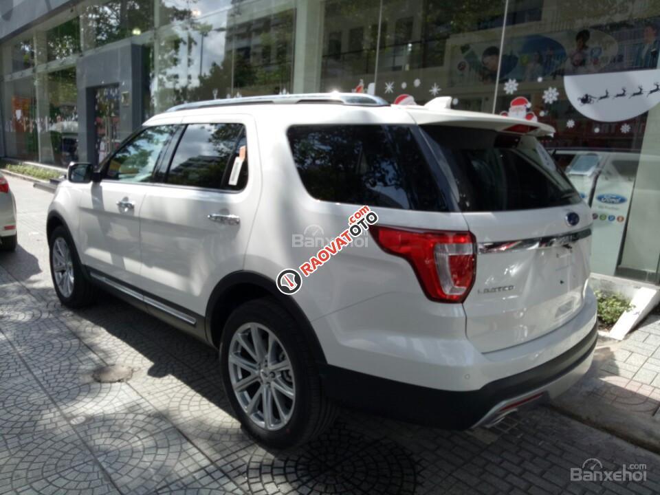 Bán xe Ford Explorer Limited 2017, màu trắng, xe nhập, đủ màu, giao xe ngay. LH: 0978877754 giá tốt-2