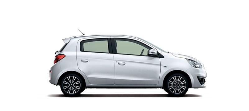 Cần bán xe Mitsubishi Mirage 2017, màu bạc, nhập khẩu nguyên chiếc-6