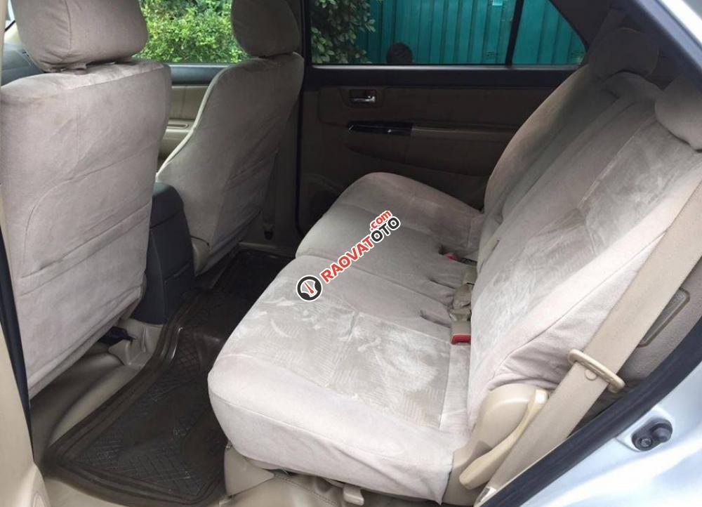 Cần bán chiếc Toyota Fortuner 2.5G MT 2014, máy dầu, màu bạc zin cực chất-9