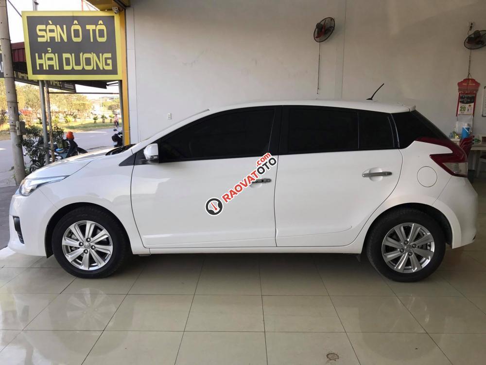 Toyota Yaris G nhập khẩu 8/2016, màu trắng, đi 1.4 vạn-6