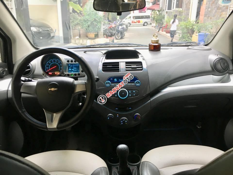 Bán Chevrolet Spark LT đời 2011, màu trắng, 205tr-10