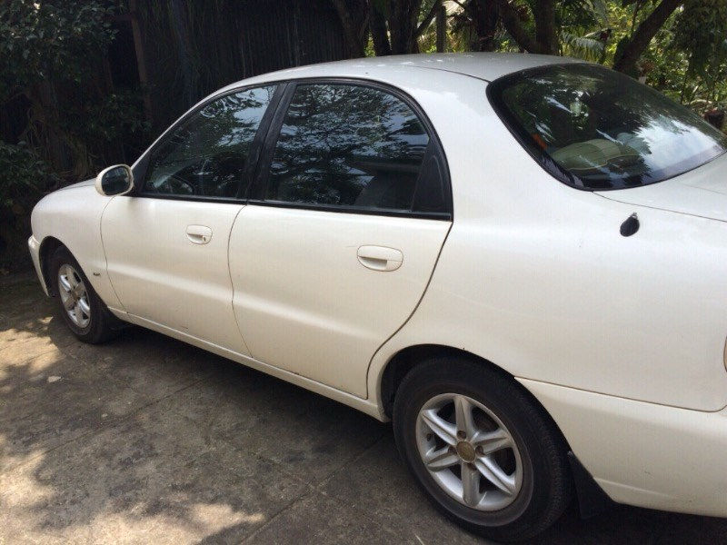 Bán xe Daewoo Lanos đời 2002, màu trắng, nhập khẩu-3