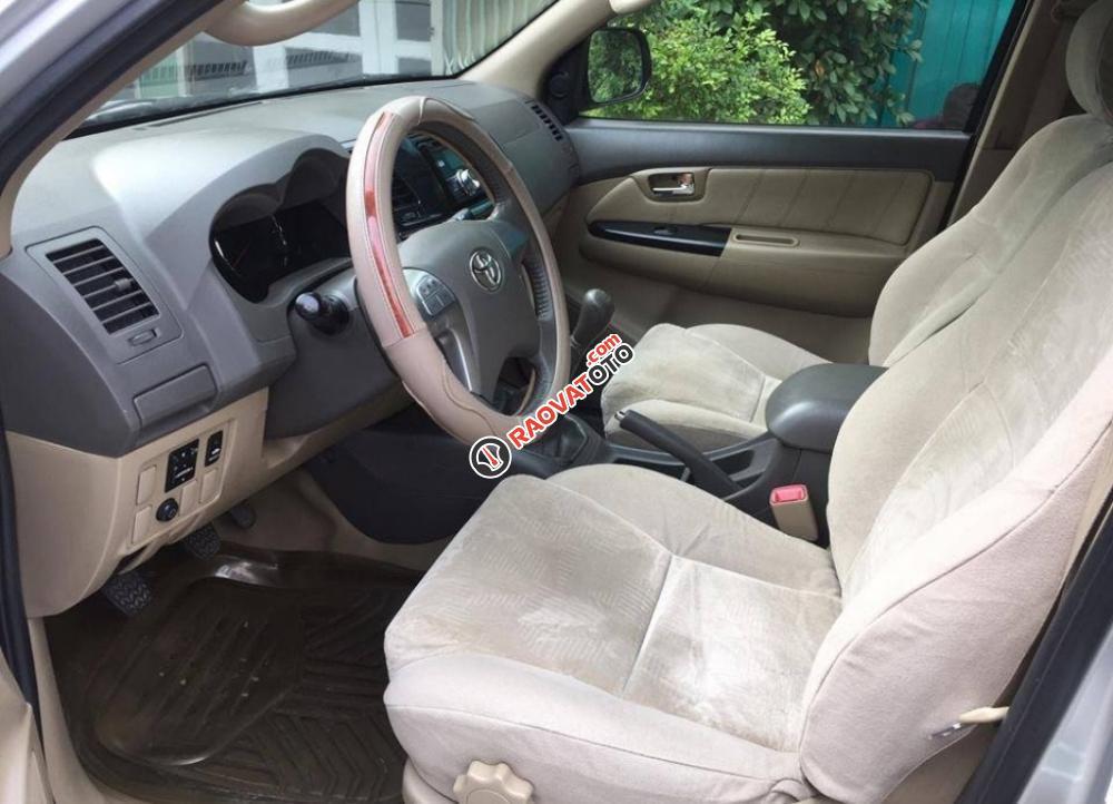 Cần bán chiếc Toyota Fortuner 2.5G MT 2014, máy dầu màu bạc, zin cực chất-3