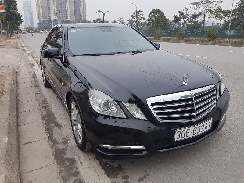 Bán xe Mercedes E250 đời 2010, màu đen, nhập khẩu chính hãng-0