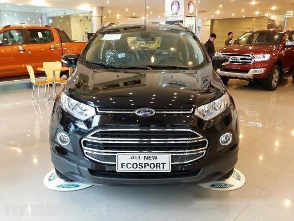 Bán xe Ford EcoSport đời 2017, màu đen, nhập khẩu chính hãng, giá 585tr-0