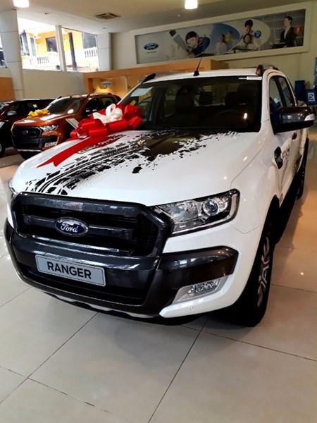 Bán Ford Ranger đời 2017, màu trắng, nhập khẩu nguyên chiếc, giá 925tr-3