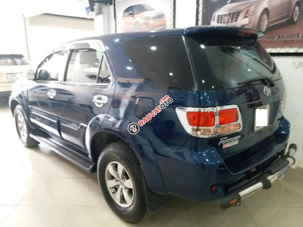 Toyota Fortuner SR5 4x4AT màu xanh, 2 cầu máy xăng, sản xuất 2008, nhập khẩu Thái Lan-17