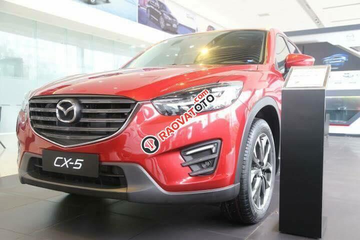 Bán xe Mazda CX 5 AT 2.5L 2WD sản xuất 2017, màu đỏ - LH 0965500741 để biết thêm chi tiết-0