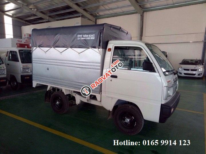 Bán Suzuki Super Carry Truck phiên bản thùng siêu dài duy nhất tại Suzuki Vân Đạo. LH: 01659914123-0