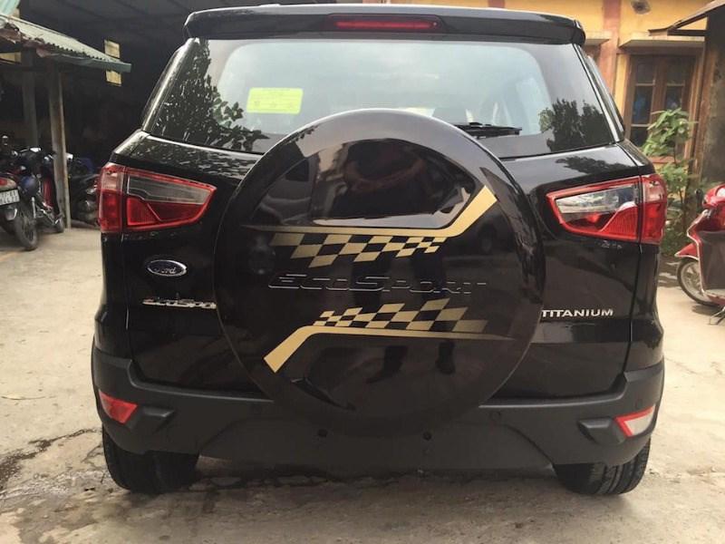 Bán xe Ford EcoSport đời 2017, màu đen, nhập khẩu chính hãng, giá 585tr-7