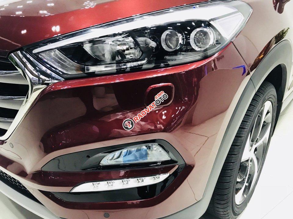Hyundai Tucson 2.0 xăng tiêu chuẩn, màu đỏ lại về, cam kết giảm trực tiếp 85 triệu tiền mặt và hơn thế nữa-7