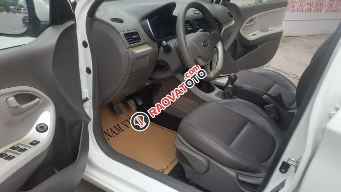 Bán ô tô Kia Morning EXMT sản xuất 2017, màu trắng-4