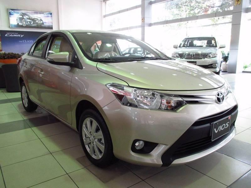 Bán ô tô Toyota Vios 1.5G đời 2017, màu bạc, nhập khẩu, giá tốt-2