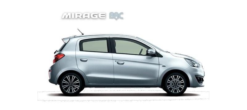 Cần bán xe Mitsubishi Mirage 2017, màu bạc, nhập khẩu nguyên chiếc-2