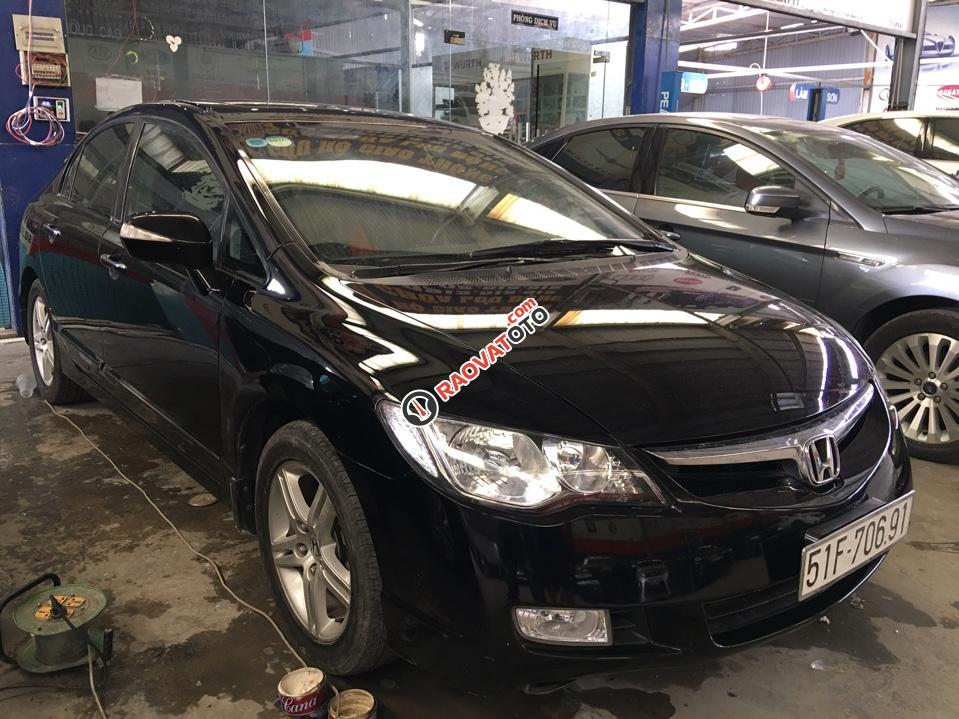 Bán ô tô cũ giá tốt - Honda Civic 1.8 AT đời 2007, màu đen-0