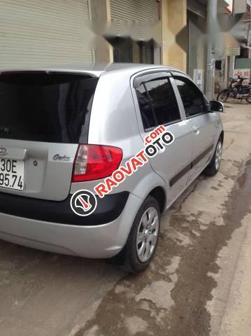 Cần bán Hyundai Getz 2009, màu bạc, nhập khẩu nguyên chiếc xe gia đình-4