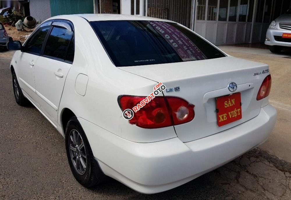 Cần bán lại xe Toyota Corolla altis 1.8G MT đời 2003, màu trắng-3