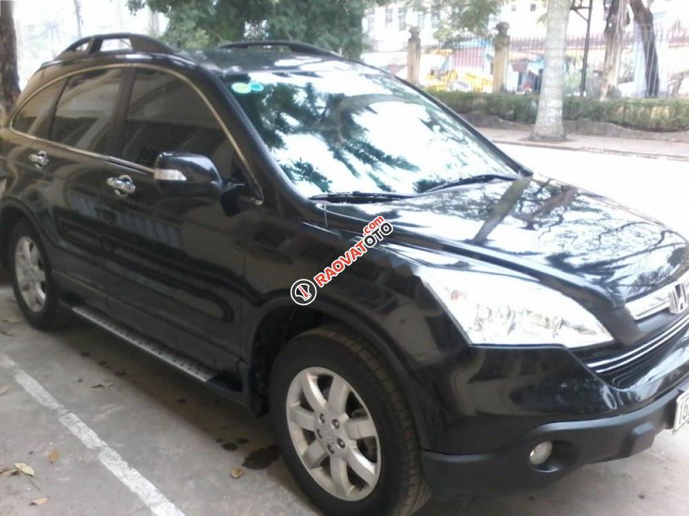 Bán xe Honda CR V đời 2010, màu đen, 555 triệu-4