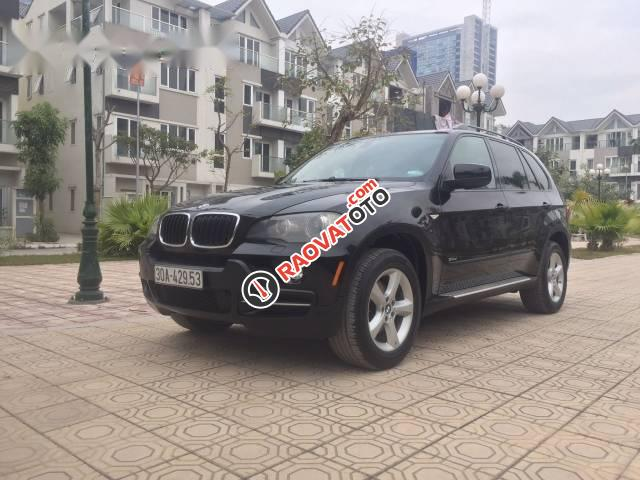 Bán BMW X5 đời 2007, màu đen, nhập khẩu giá cạnh tranh-0