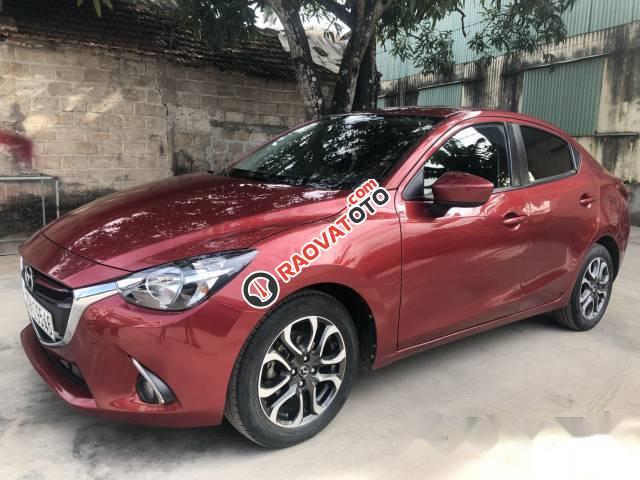 Bán Mazda 2 đời 2016, màu đỏ số tự động, giá tốt-1