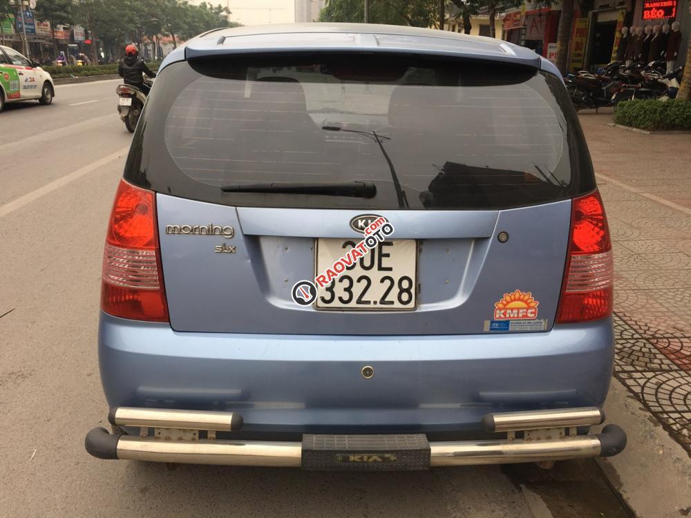 Xe Kia Morning SLX đời 2007, màu xanh lam, nhập khẩu -8