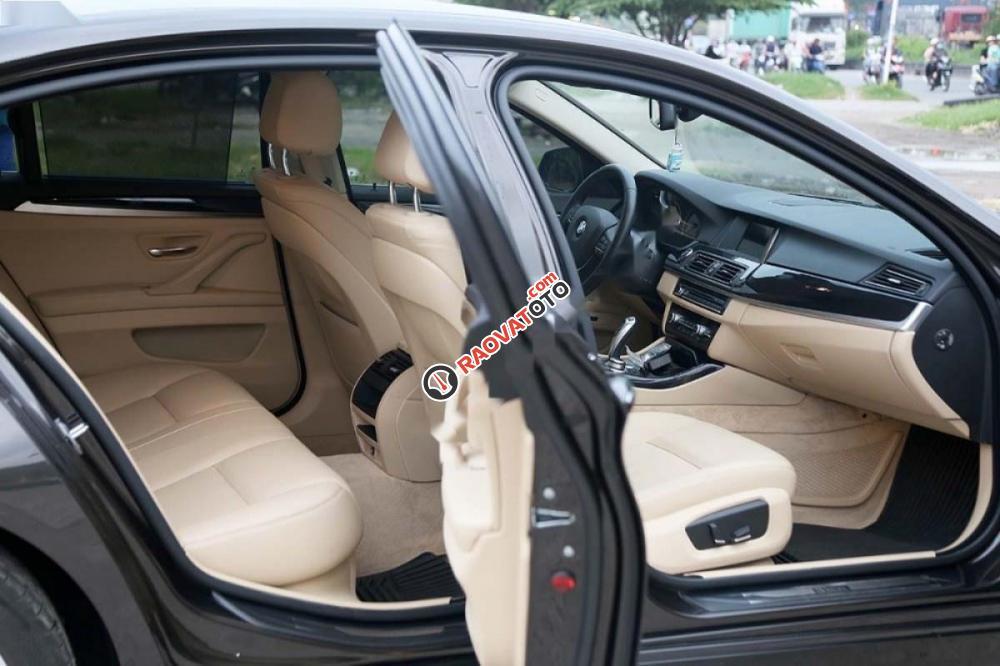 Bán ô tô BMW 5 Series 520i 2017, màu nâu, xe nhập-6
