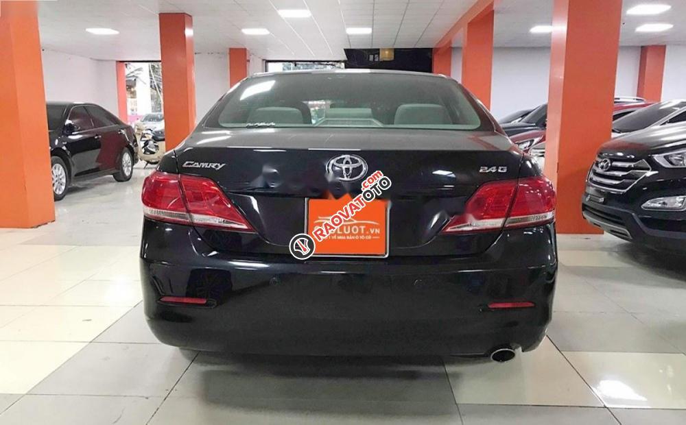 Bán ô tô Toyota Camry 2.4G đời 2011, màu đen số tự động, giá 635tr-4