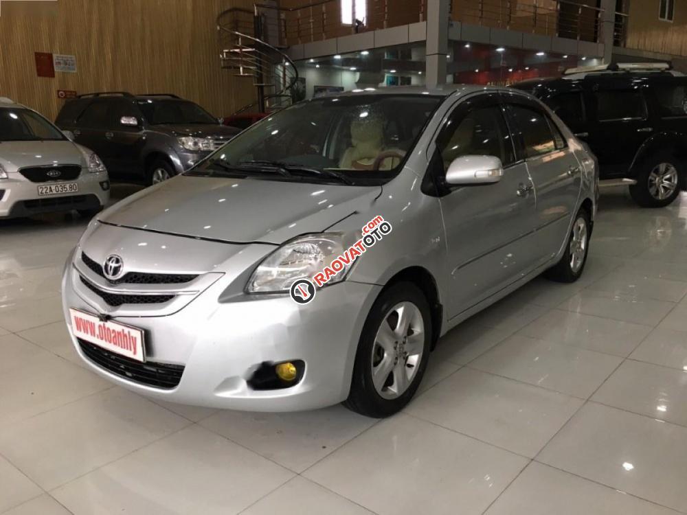 Cần bán gấp Toyota Vios đời 2008, màu bạc, giá 315tr-6
