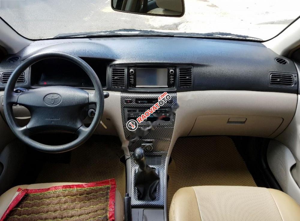 Cần bán lại xe Toyota Corolla altis 1.8G MT đời 2003, màu trắng-5