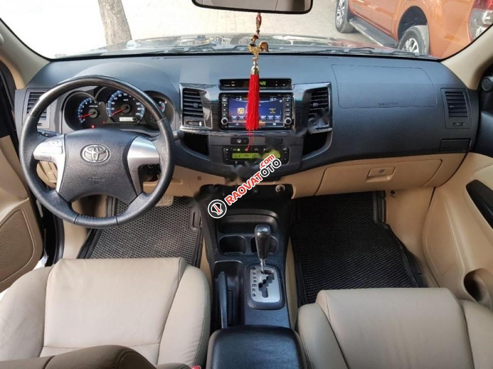 Cần bán xe Toyota Fortuner đời 2015, màu đen số tự động, giá 820tr-1