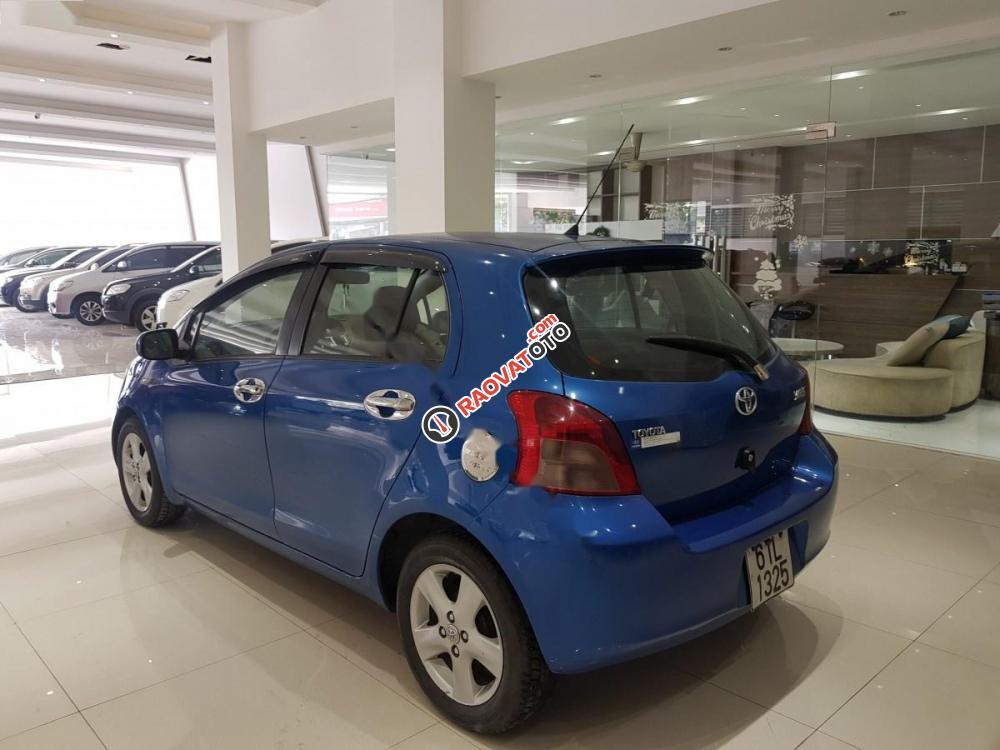 Cần bán lại xe Toyota Yaris 1.3 đời 2008, màu xanh lam, xe nhập-2