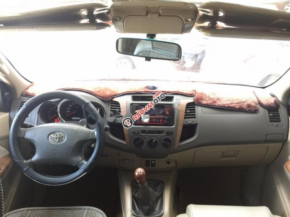 Bán Toyota Fortuner G năm 2009, màu bạc giá cạnh tranh-5