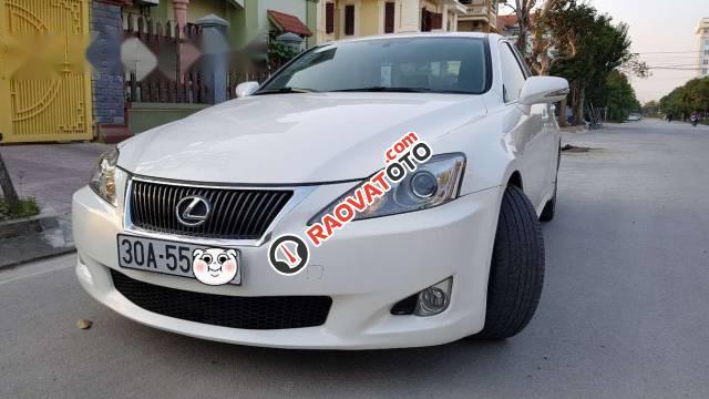 Bán xe Lexus IS 250 đời 2009, màu trắng, xe nhập chính chủ-0