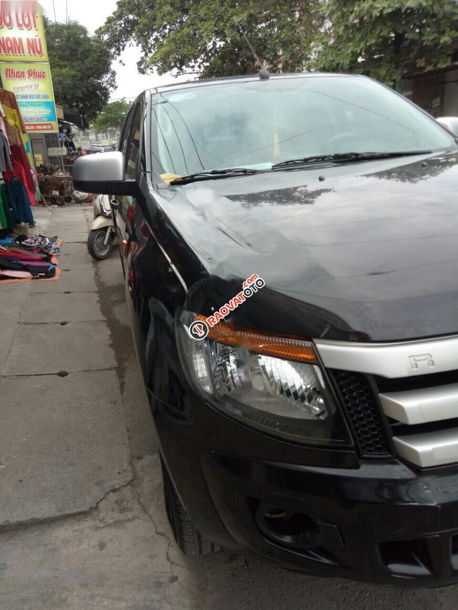 Cần bán gấp Ford Ranger đời 2014, màu đen, xe nhập, 485tr-1