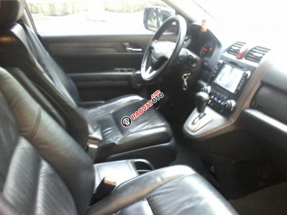 Bán xe Honda CR V đời 2010, màu đen, 555 triệu-2