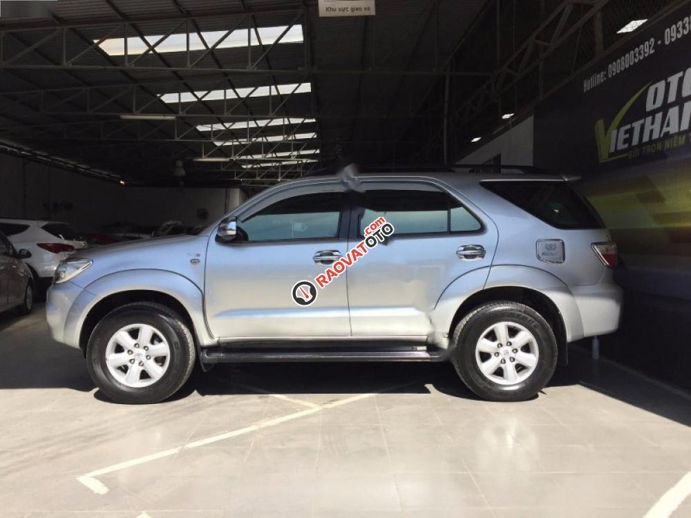 Bán Toyota Fortuner G năm 2009, màu bạc giá cạnh tranh-2