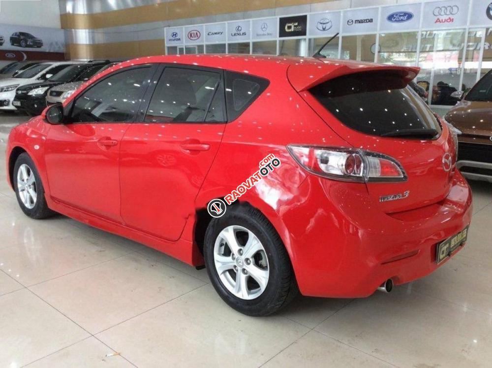 Cần bán xe Mazda 3 1.6AT đời 2010, màu đỏ, nhập khẩu nguyên chiếc, số tự động giá cạnh tranh-7