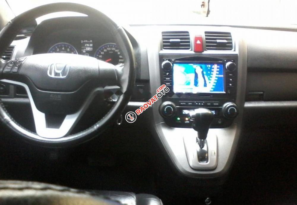 Bán xe Honda CR V đời 2010, màu đen, 555 triệu-5