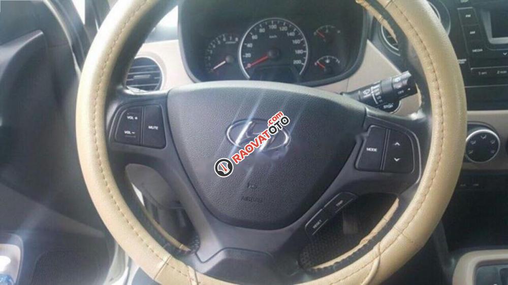 Cần bán xe Hyundai Grand i10 AT năm 2013, màu trắng, nhập khẩu nguyên chiếc còn mới, 345 triệu-6