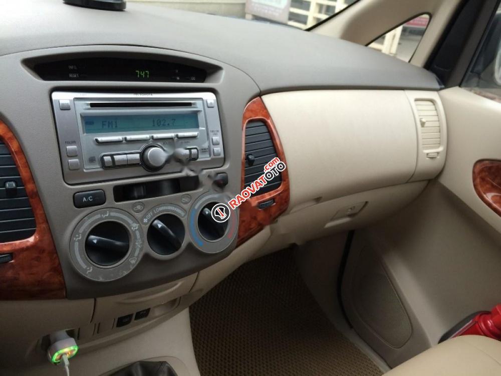 Cần bán xe Toyota Innova đời 2008, màu bạc-5