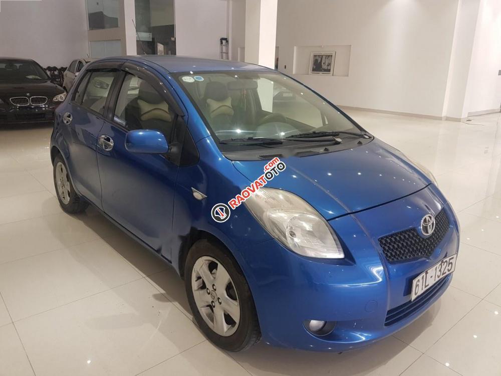 Cần bán lại xe Toyota Yaris 1.3 đời 2008, màu xanh lam, xe nhập-1