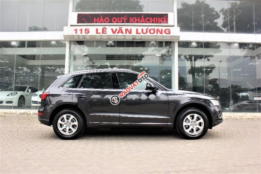 Cần bán lại xe Audi Q5 đời 2014, màu xám, nhập khẩu-3