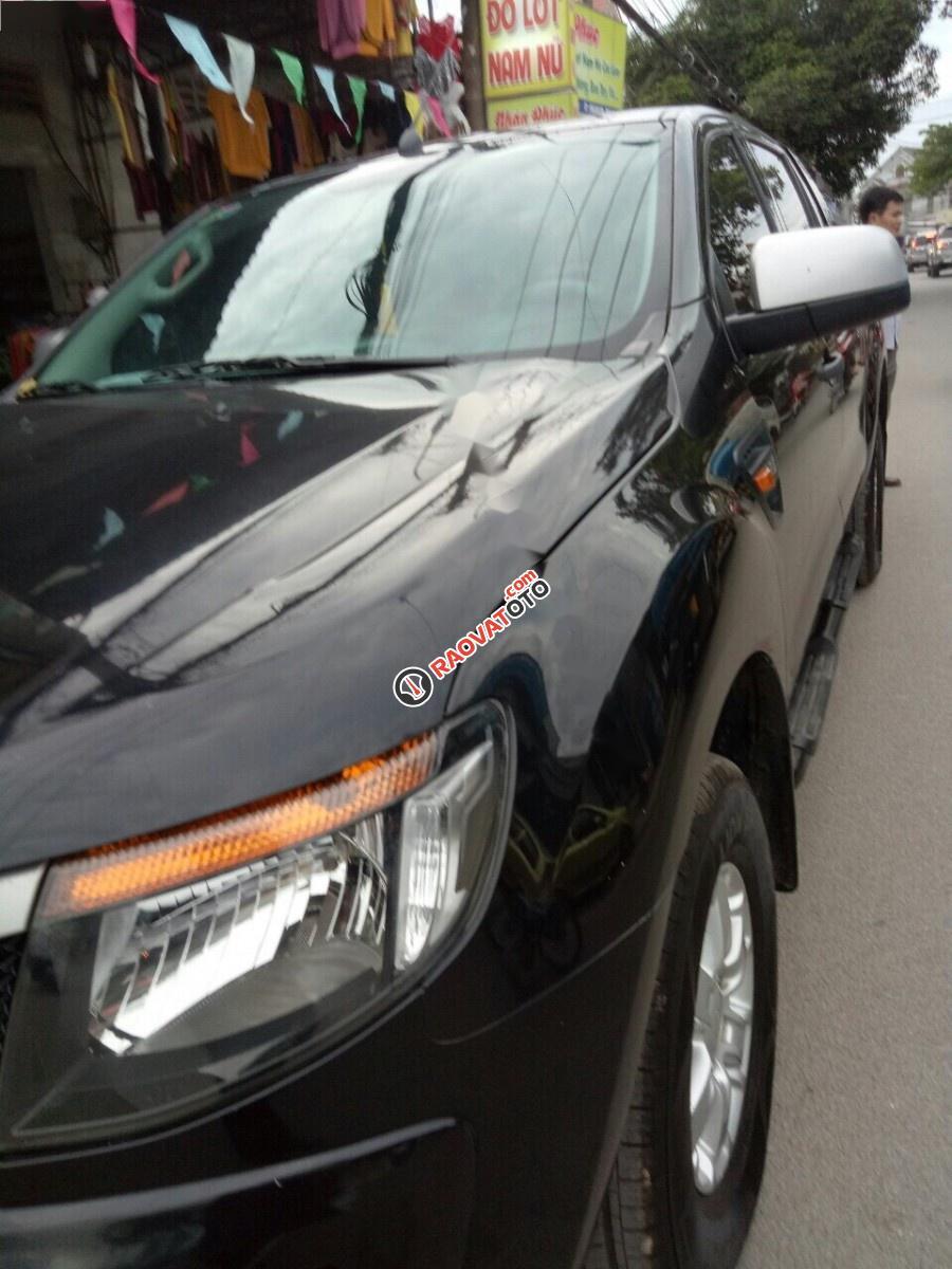 Cần bán gấp Ford Ranger đời 2014, màu đen, xe nhập, 485tr-0