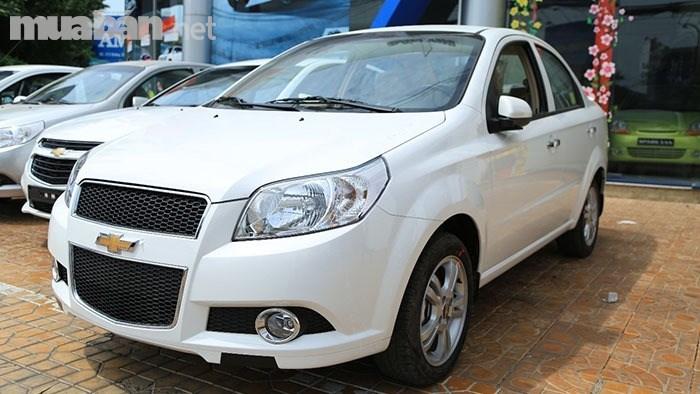 Bán xe Chevrolet Aveo đời 2017, màu trắng, nhập khẩu-0